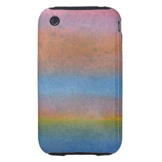 Multicolor Stripes. iPhone 3 Tough Case