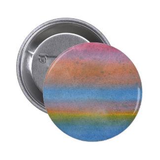 Multicolor Stripes. Pinback Button