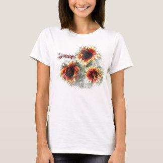 Multicolor Sunflower T-Shirt