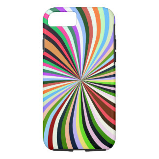 Multicolor Swirl. Chic, Exotic Colorful Background iPhone 8/7 Case