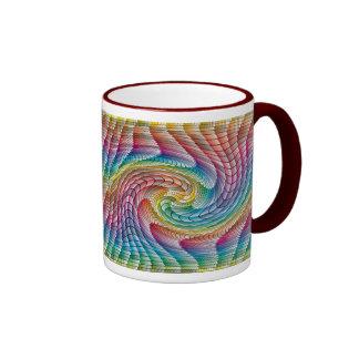Multicolor Swirl coffee mug