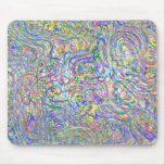 Multicolor Swirl Mousepad