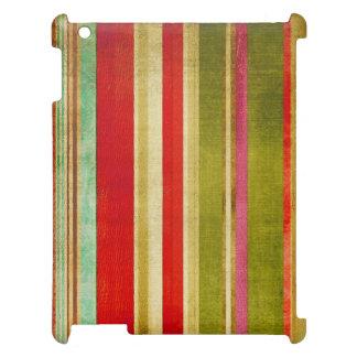multicolor texture Case Savvy Matte iPad Case