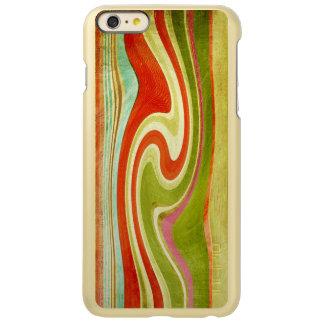 multicolor texture iPhone 6/6s Feather® Shine,Gold Incipio Feather Shine iPhone 6 Plus Case