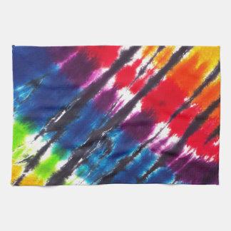 Multicolor Tie-Dye Kitchen Towel
