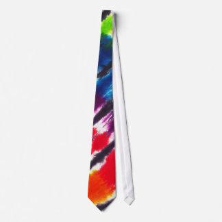 Multicolor Tie-Dye Tie