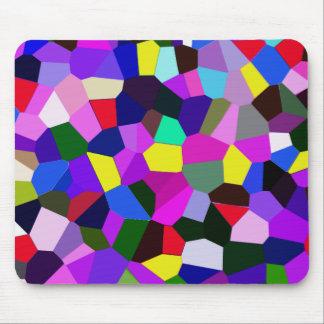 Multicolor vibrante Mousepad