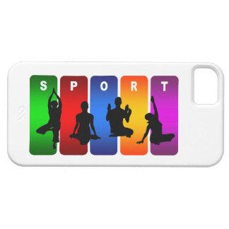 Multicolor Yoga iPhone 5 Case