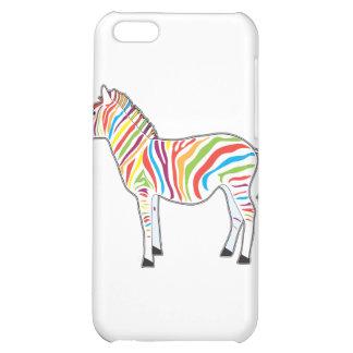 Multicolor Zebra Case For iPhone 5C