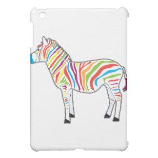 Multicolor Zebra iPad Mini Case