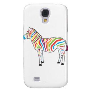 Multicolor Zebra Samsung Galaxy S4 Cover