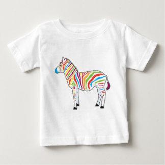 Multicolor Zebra T-shirt