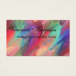 Multicolored Abstract Art Business Cards