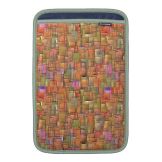 Multicolored Abstract Background. Colorful Pattern MacBook Air Sleeve