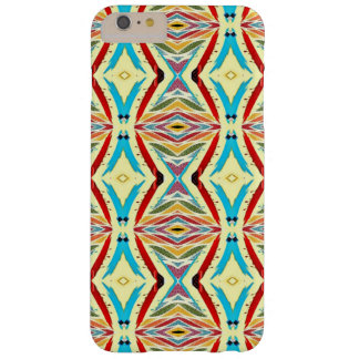 Multicolored Abstract Chains. Geometric Pattern Barely There iPhone 6 Plus Case