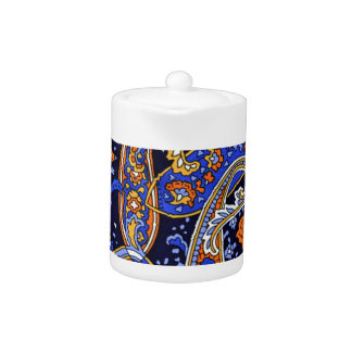 Multicolored Abstract Design Teapot