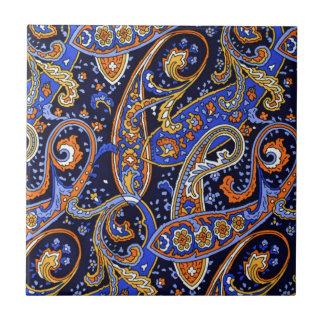Multicolored Abstract Design Tile