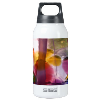 Multicolored Abstract Designed Insulated Water Bottle