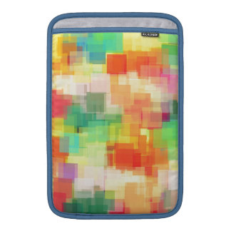 Multicolored Abstract Geometric Pattern Sleeve For MacBook Air