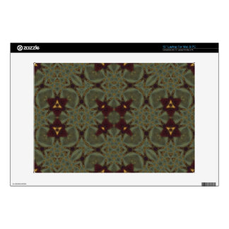 """Multicolored Abstract Pattern 13"""" Laptop Skin"""