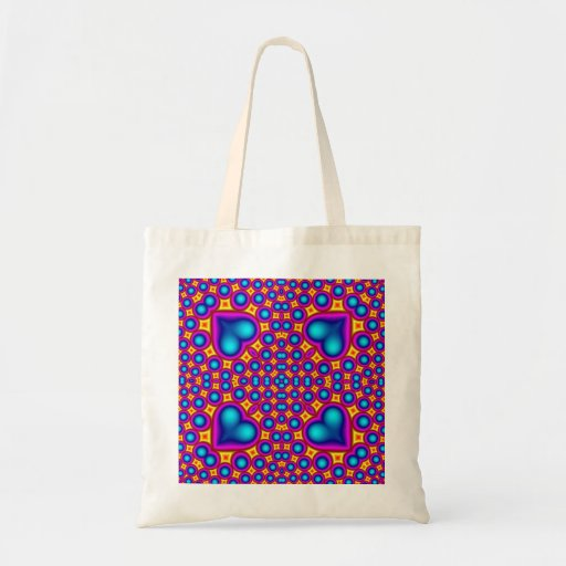 Multicolored Abstract Pattern Bags