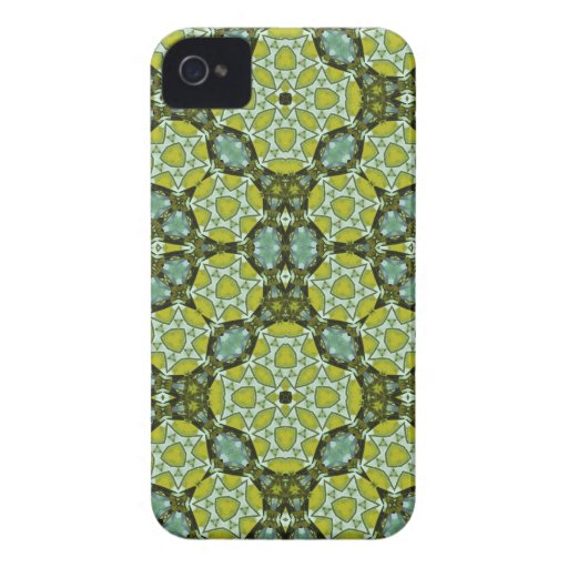 Multicolored Abstract Pattern iPhone 4 Case-Mate Case