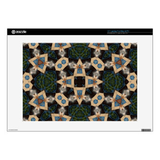 """Multicolored Abstract Pattern Decal For 15"""" Laptop"""