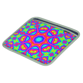 Multicolored abstract pattern sleeve for iPads
