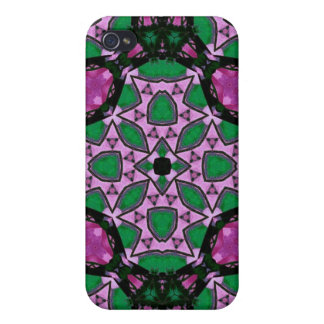 Multicolored Abstract Pattern iPhone 4/4S Case