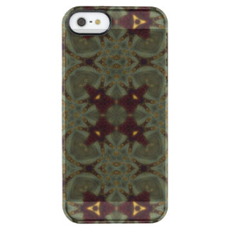 Multicolored Abstract Pattern Uncommon Clearly™ Deflector iPhone 5 Case