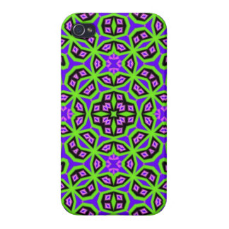 Multicolored Abstract Pattern Case For iPhone 4