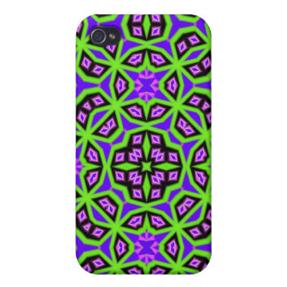 Multicolored Abstract Pattern iPhone 4 Case