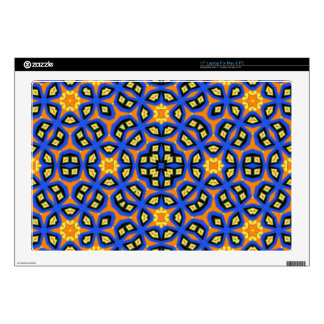 Multicolored abstract pattern laptop skins
