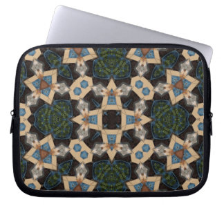 Multicolored Abstract Pattern Laptop Sleeve