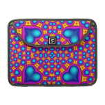 Multicolored Abstract Pattern Sleeves For MacBook Pro