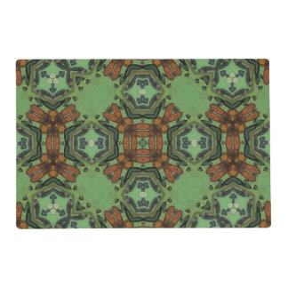Multicolored Abstract Pattern Placemat