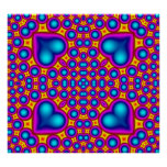 Multicolored Abstract Pattern Print