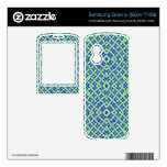 Multicolored abstract pattern samsung gravity skin