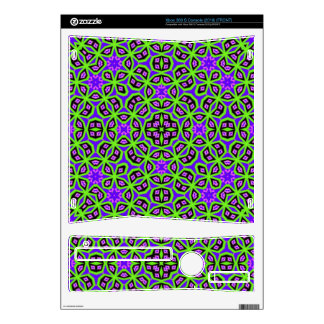 Multicolored Abstract Pattern Xbox 360 S Console Skin