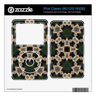 Multicolored Abstract Pattern Skin For iPod