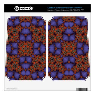 Multicolored abstract pattern turtle beach x41 skin
