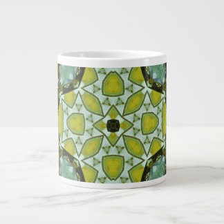 Multicolored Abstract Pattern Extra Large Mugs