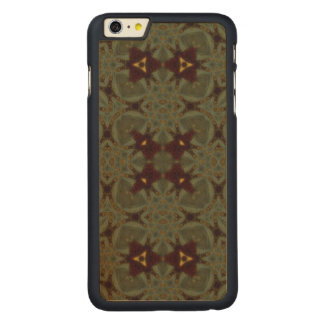Multicolored Abstract Pattern Carved® Maple iPhone 6 Plus Slim Case
