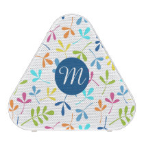 Multicolored Assorted Leaves Ptn (Personalized) Speaker