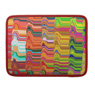 Multicolored bag sleeve for MacBooks