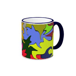 Multicolored Blend Coffee Mug