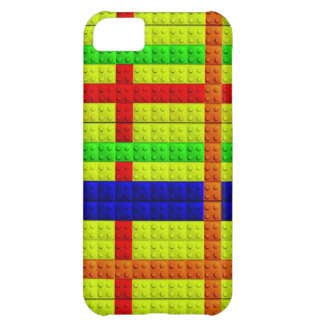 Multicolored blocks pattern case for iPhone 5C