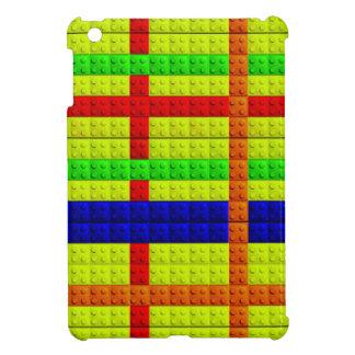 Multicolored blocks pattern case for the iPad mini