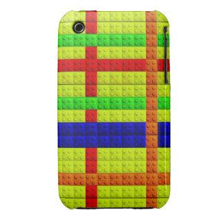 Multicolored blocks pattern iPhone 3 case