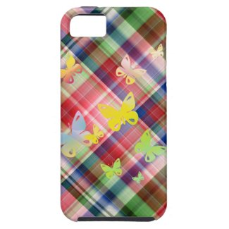 Multicolored butterflies iPhone 5 case